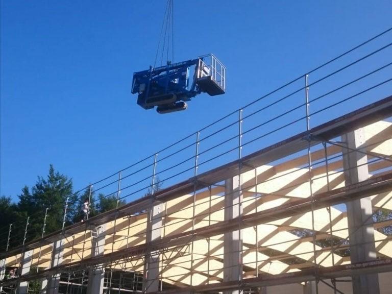 Starnberger Mietgeräte, RB 17 Baustelle in Feldafing